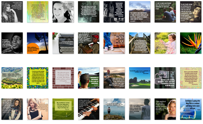 Inspirational Graphics PLR Confidence Pack